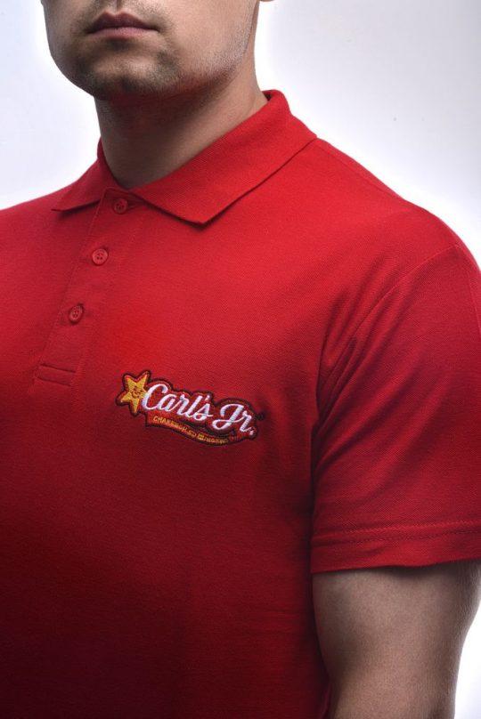 Рубашка поло мужская Prescott men 170 красная, размер 3XL