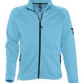 Куртка флисовая мужская New look men 250 бирюзовая, размер S