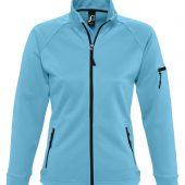 Куртка флисовая женская New look women 250 бирюзовая, размер M