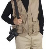 Жилет фотографа Wild 200 бежевый, размер M