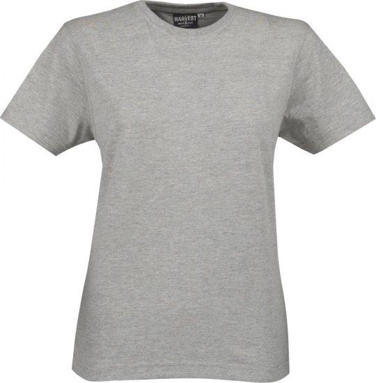 Футболка женская LADIES AMERICAN T, серый меланж, размер XL