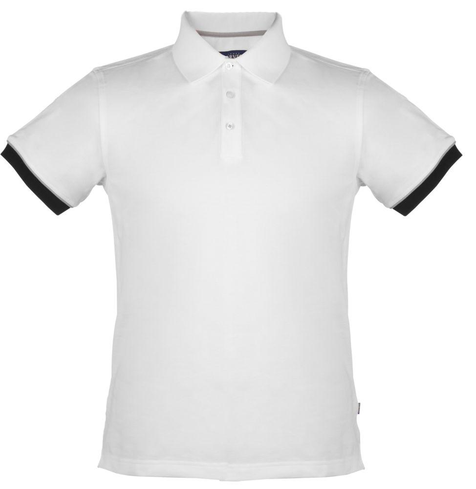 0902539ce984 Рубашка поло мужская ANDERSON, белая, размер L оптом под логотип