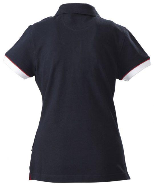 Рубашка поло женская ANTREVILLE, темно-синяя, размер L