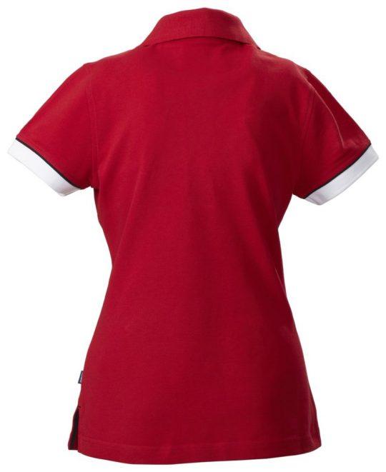 Рубашка поло женская ANTREVILLE, красная, размер M