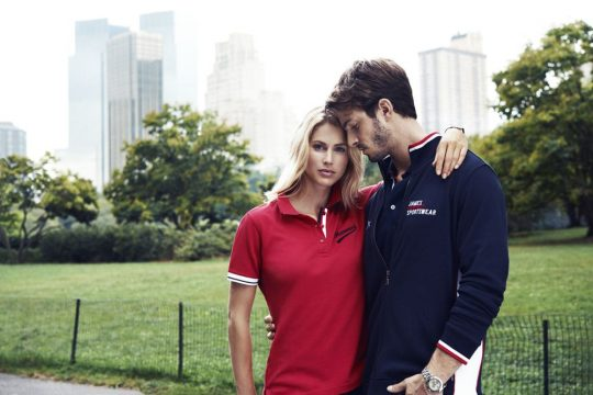 Рубашка поло женская ANTREVILLE, красная, размер L