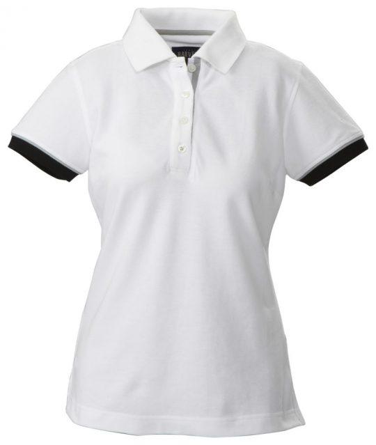 Рубашка поло женская ANTREVILLE, белая, размер XXL