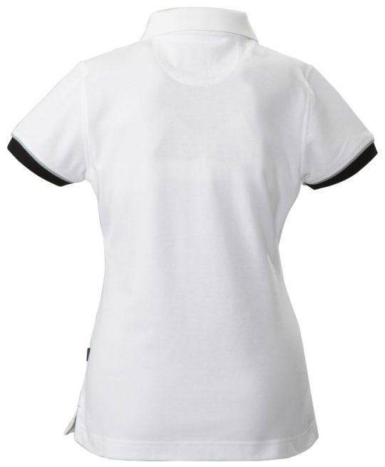 Рубашка поло женская ANTREVILLE, белая, размер XL