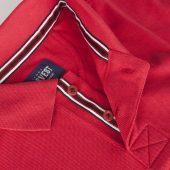 Рубашка поло мужская AVON, красная, размер S