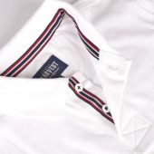 Рубашка поло мужская AVON, белая, размер S