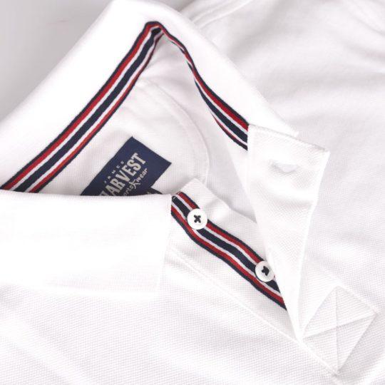 Рубашка поло мужская AVON, белая, размер XL