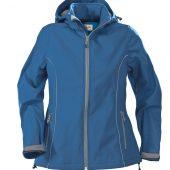 Куртка софтшелл женская HANG GLIDING, синяя, размер S