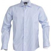 Рубашка мужская в полоску RENO, голубая, размер XXL
