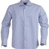 Рубашка мужская в клетку TRIBECA, синяя, размер L