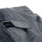 Куртка мужская JACKSON, черный меланж, размер S