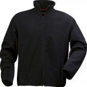 Куртка флисовая мужская LANCASTER, черная, размер S