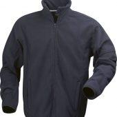 Куртка флисовая мужская LANCASTER, темно-синяя, размер XXL