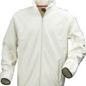Куртка флисовая мужская LANCASTER, белая с оттенком слоновой кости, размер XXL