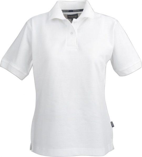 Рубашка поло женская SEMORA, белая, размер L