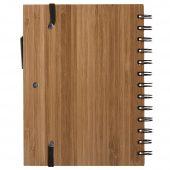 Блокнот на кольцах Bambook с шариковой ручкой