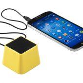"""Колонка """"Nomia"""" с функцией Bluetooth, желтый, арт. 002839703"""