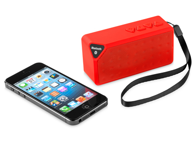 "Колонка ""Jabba"" Bluetooth, красный, арт. 002840903"