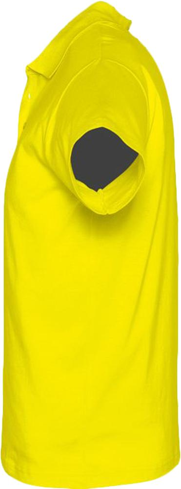 Рубашка поло мужская Prescott men 170 желтая (лимонная), размер S