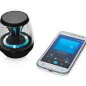 """Колонка """"Rave Light Up"""" с функцией Bluetooth, черный/прозрачный, арт. 002851603"""