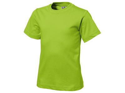 Футболка «Heavy Super Club» детская, зеленое яблоко ( 14 )