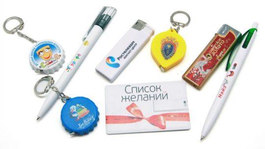 Нанесение логотипов методом УФ-печати