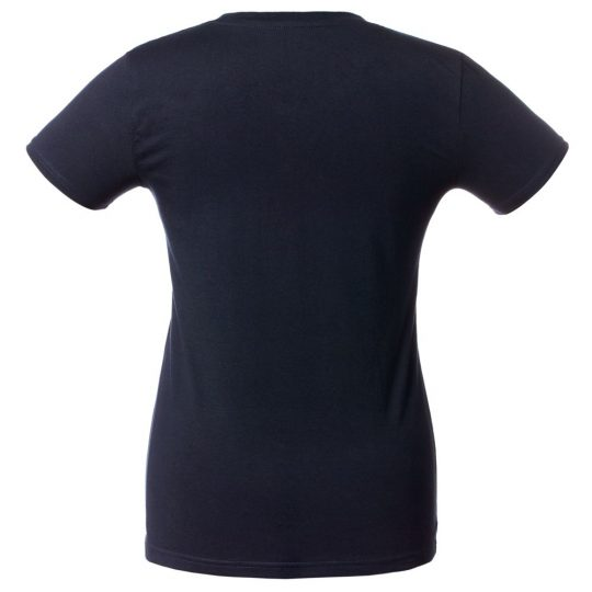 Футболка женская «Бабон», темно-синяя, размер L