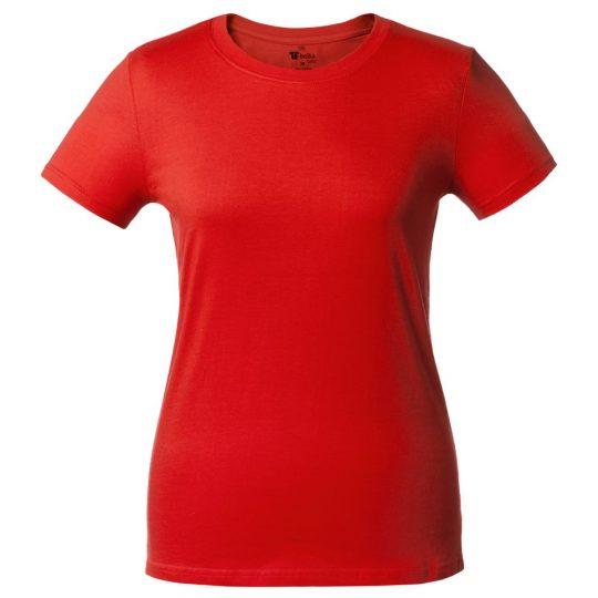 7737aa8c7ca4 Футболка женская T-bolka Lady красная, размер S оптом под логотип