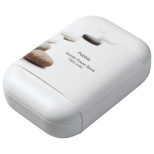 Универсальный внешний аккумулятор Pebble 7800 mAh, темно-серый
