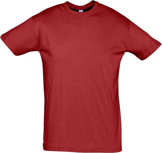 Футболка REGENT 150 вишнево-красная, размер XL