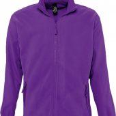 Куртка мужская North фиолетовая, размер 3XL