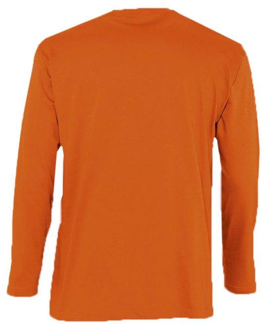 Футболка мужская с длинным рукавом MONARCH 150 оранжевая, размер 3XL