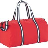 Хлопковая дорожная сумка «Weekender», красный
