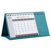 Календарь настольный, бирюзовый