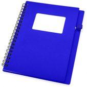 """Блокнот А6 """"Контакт"""", синий, арт. 005134603"""