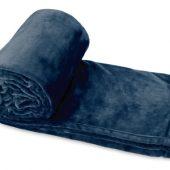 "Плед ""Тедди"", темно-синий, арт. 005133003"