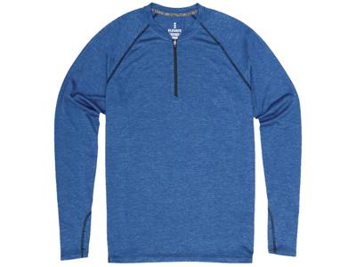 """Лонгслив """"Quadra"""" мужской с длинным рукавом, синий ( S ), арт. 005377103"""