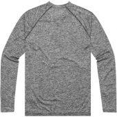 """Лонгслив """"Quadra"""" мужской с длинным рукавом, темно-серый ( XS ), арт. 005378203"""