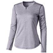 """Лонгслив """"Quadra"""" женский с длинным рукавом, серый ( S ), арт. 005375503"""