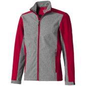 Куртка софтшел «Vesper» мужская, красный/темно-серый ( XS )