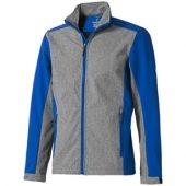 Куртка софтшел «Vesper» мужская, синий/темно-серый ( S )