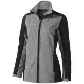 """Куртка софтшел """"Vesper"""" женская, черный/темно-серый ( XL )"""