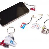 Заглушки для разъемов телефонов (акрил)