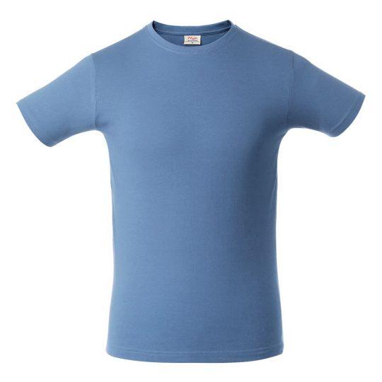 Футболка мужская HEAVY голубая, размер M