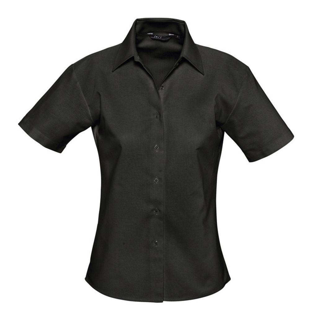 f62bf436da9 Рубашка женская с коротким рукавом ELITE черная