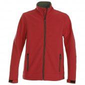Куртка софтшелл TRIAL красная, размер M