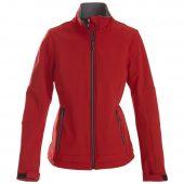 Куртка софтшелл женская TRIAL LADY красная, размер L
